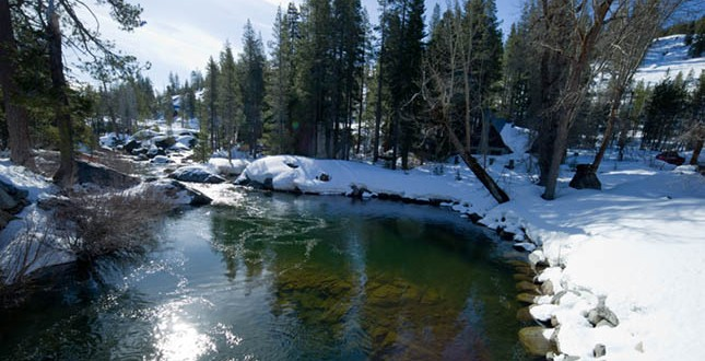 sierra snow water