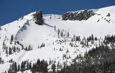 Snow in Sierra