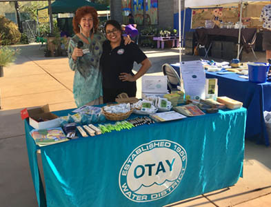 Otay booth